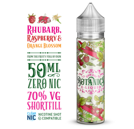 Rhubarb Raspberry And Orange Blossom (Botanics) 50ml 0mg