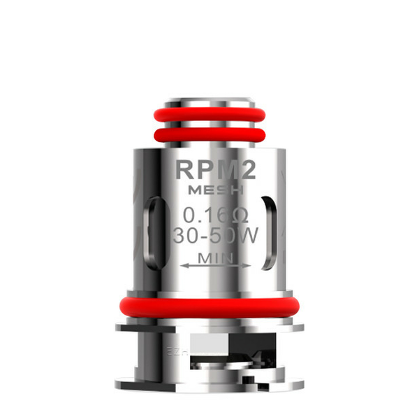 RPM 2 Kit Replacement Coils By Smok 0.16 ohm mesh coil UK