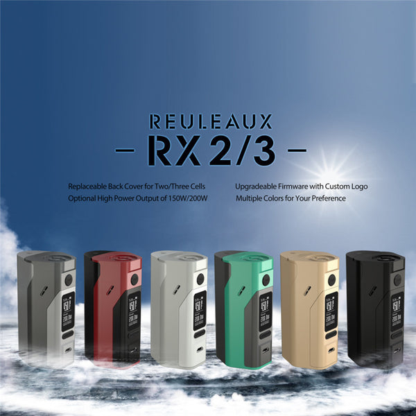 Reuleaux RX2/3 200w Regulated Mod By Wismec