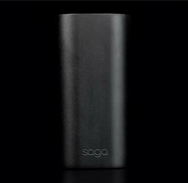 SAGA Dual 21700 Mech Mod By Vaperz Cloud matte black UK