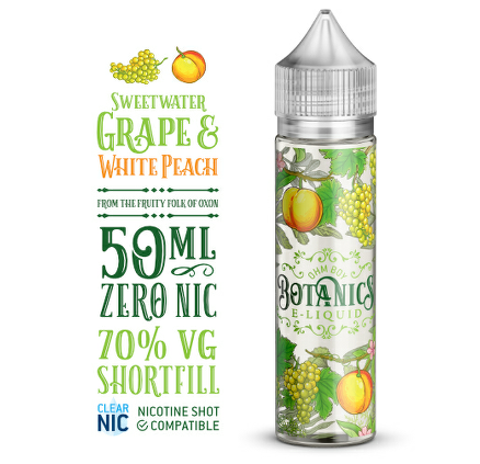 Sweetwater Grape And White Peach (Botanics) 50ml 0mg
