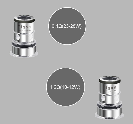Tigon Kit Replacement Coils By Aspire