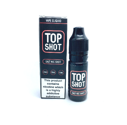 Top Shot 10ml 20mg Salt Nic Shot