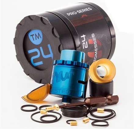 TM24 Pro Series RDA By Twisted Messes
