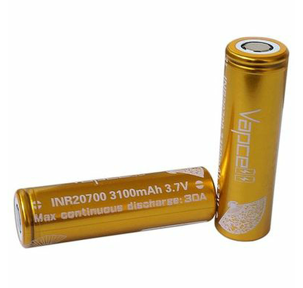 20700 INR 3100mAh 30A By Vapecell
