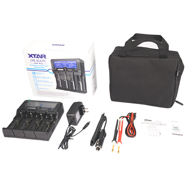 Xtar Dragon VP4 Plus Battery Charger and Analyser