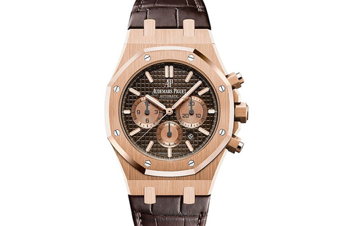 Audemars Piguet Royal Oak Chronograph 41mm Rose Gold - Limited Edition Leo Messi