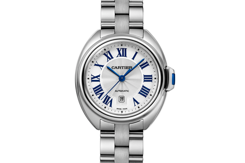 Cartier Clé de Cartier - Stainless Steel on Bracelet - Silver Dial (31mm)