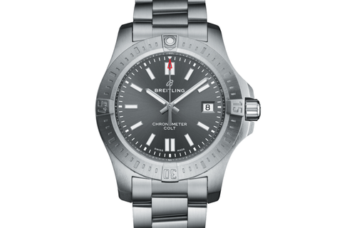 Breitling Chronomat Colt Automatic 44 - Stainless Steel on Bracelet - Tempest Grey Dial