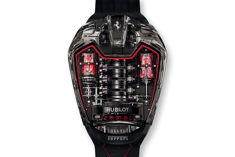 Hublot MP-05 LaFerrari Aperta - Smoked Sapphire on Black Rubber