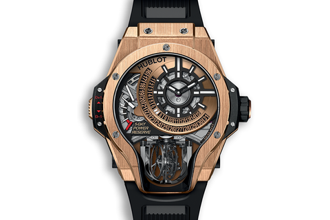 Hublot MP-09 Tourbillon Bi-Axis King Gold - King Gold on Black Rubber