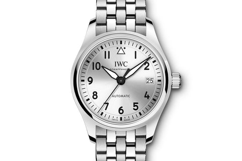 IWC Pilot's Watch Automatic 36 - Stainless Steel on Bracelet - Silver Dial