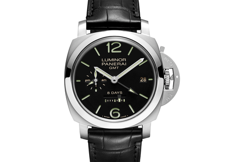 Officine Panerai Luminor 1950 8 Days GMT Acciaio - 44mm (PAM 233)