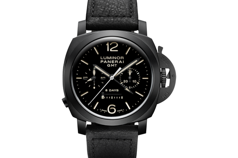 Officine Panerai Luminor 1950 8 Days GMT Chrono Monopulsante Ceramica - 44mm (PAM 317)