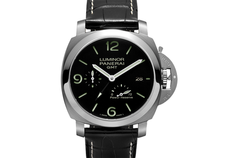 Officine Panerai Luminor 1950 3 Days GMT Power Reserve Automatic Acciaio - 44mm (PAM 321)