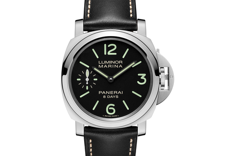 Officine Panerai Luminor Marina 8 Days Acciaio - 44mm (PAM 510)