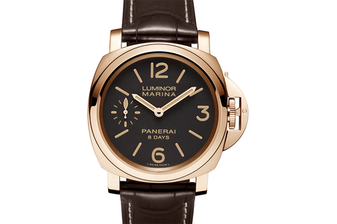 Officine Panerai Luminor Marina 8 Days Oro Rosso - 44mm (PAM 511)