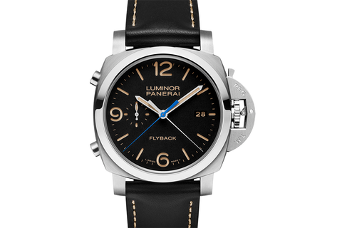 Officine Panerai Luminor 1950 3 Days Chrono Flyback Automatic Acciaio - 44mm (PAM 524)