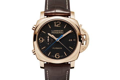 Officine Panerai Luminor 1950 3 Days Chrono Flyback Automatic Oro Rosso - 44mm (PAM 525)