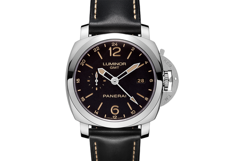 Officine Panerai Luminor 1950 3 Days GMT 24H Automatic Acciaio - 44mm (PAM 531)