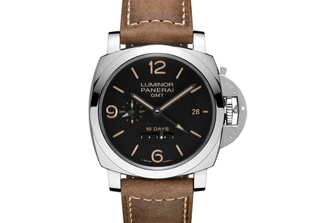 Officine Panerai Luminor 1950 10 Days GMT Automatic Acciaio - 44mm (PAM 533)