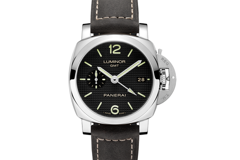Officine Panerai Luminor 1950 3 Days GMT Automatic Acciaio - 42mm (PAM 535)