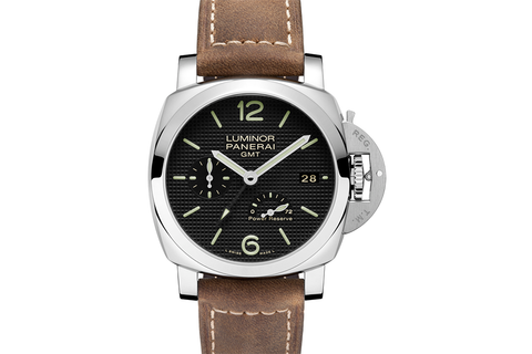 Officine Panerai Luminor 1950 3 Days GMT Power Reserve Automatic Acciaio - 42mm (PAM 537)