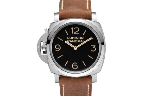 Officine Panerai Luminor 1950 Left-Handed 3 Days Acciaio - 47mm (PAM 557)