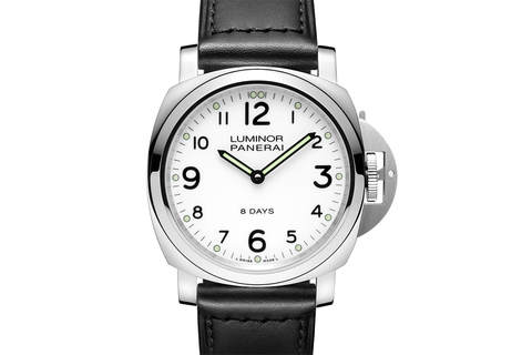 Officine Panerai Luminor Base 8 Days Acciaio - 44mm (PAM 561)