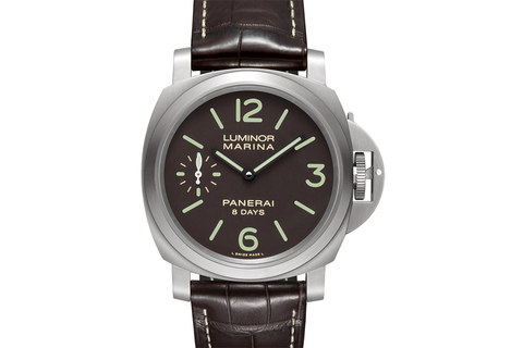 Officine Panerai Luminor Marina 8 Days Titanio - 44mm (PAM 564)