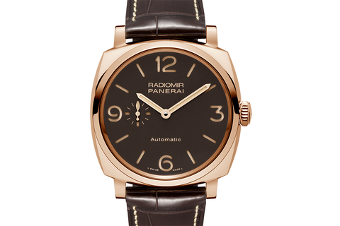 Officine Panerai Radiomir 1940 3 Days Automatic Oro Rosso - 45mm (PAM 573)