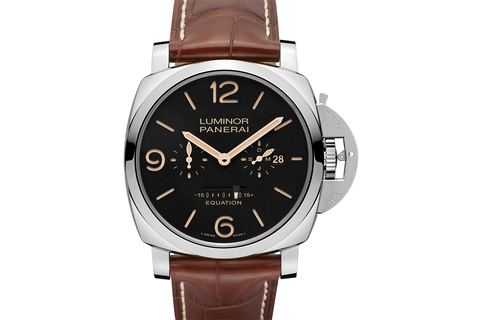 Officine Panerai Luminor 1950 Equation of Time 8 Days Acciaio - 47mm (PAM 601)