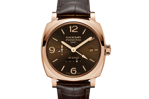 Officine Panerai Radiomir 1940 10 Days GMT Automatic Oro Rosso – 45mm (PAM 624)