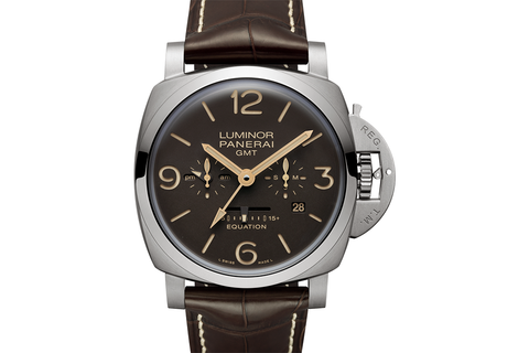 Officine Panerai Luminor 1950 Equation of Time 8 Days GMT Titanio - 47mm (PAM 656)