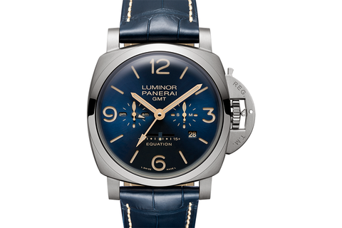 Officine Panerai Luminor 1950 Equation of Time 8 Days GMT Titanio - 47mm (PAM 670)