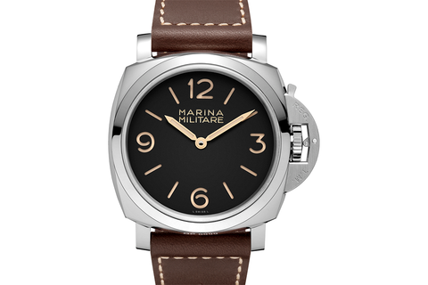 Officine Panerai Luminor 1950 Marina Militare 3 Days Acciaio - 47mm (PAM 673)