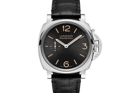 Officine Panerai Luminor Due 3 Days Acciaio - 42mm (PAM 676)