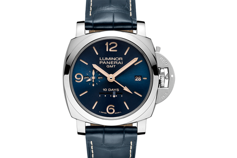 Officine Panerai Luminor 1950 10 Days GMT Automatic Acciaio - 44mm (PAM 689)