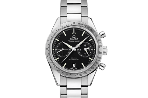 Omega Speedmaster '57 Co-Axial Chronograph 41.5mm Stainless Steel on Bracelet - Black Dial