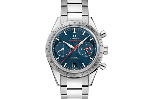 Omega Speedmaster '57 Co-Axial Chronograph 41.5mm Stainless Steel on Bracelet - Blue Dial