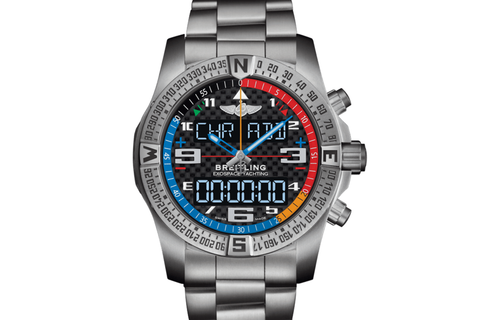 Breitling Professional Exospace B55 Yachting - Titanium on Bracelet - Carbon Dial