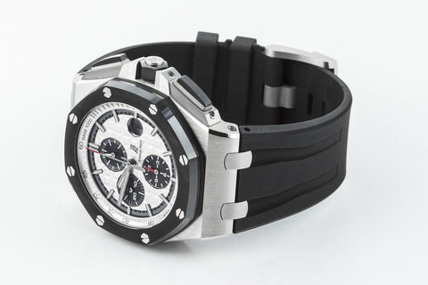 Audemars Piguet Royal Oak Offshore Chronograph Stainless Steel - White Dial