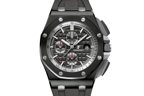 Audemars Piguet Royal Oak Offshore Chronograph Ceramic on Black Rubber - Anthracite Dial