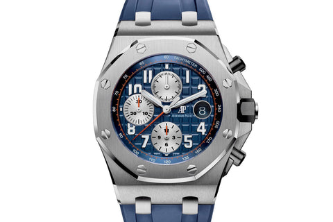 Audemars Piguet Royal Oak Offshore Chronograph Stainless Steel - Navy Edition