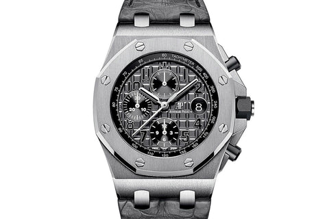 "Audemars Piguet Royal Oak Offshore Chronograph Stainless Steel - Slate ""Grey Elephant"" Dial"