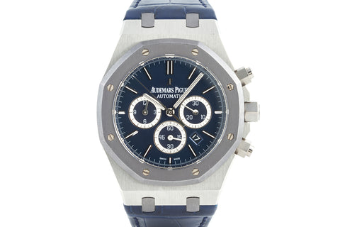 Audemars Piguet Royal Oak Chronograph 41mm Platinum - Limited Edition Leo Messi