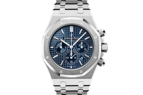 Audemars Piguet Royal Oak Chronograph 41mm Stainless Steel on Bracelet - Blue Dial