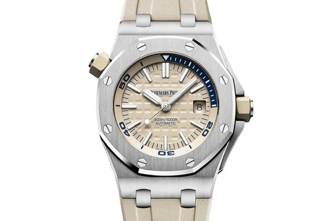 Audemars Piguet Royal Oak Offshore Diver - Beige Dial