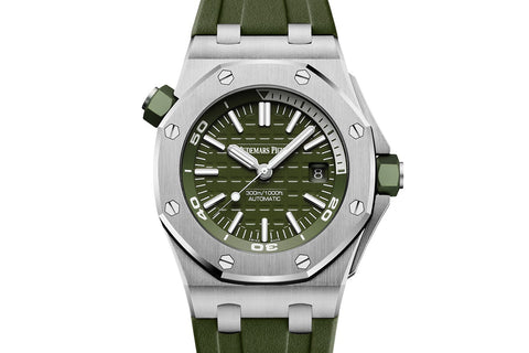 Audemars Piguet Royal Oak Offshore Diver - Khaki Dial
