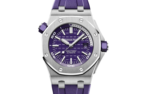 Audemars Piguet Royal Oak Offshore Diver - Purple Dial